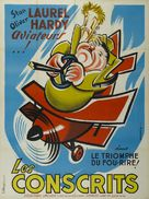 The Flying Deuces - French Movie Poster (xs thumbnail)