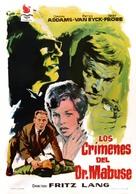 Die 1000 Augen des Dr. Mabuse - Spanish Movie Poster (xs thumbnail)