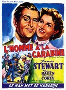 Carbine Williams - Belgian Movie Poster (xs thumbnail)