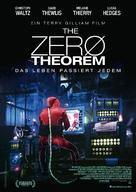The Zero Theorem - German Movie Poster (xs thumbnail)