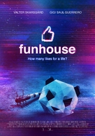 Funhouse - Canadian Movie Poster (xs thumbnail)