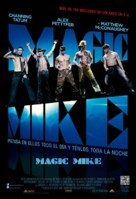 Magic Mike - Mexican Movie Poster (xs thumbnail)