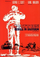 Patton - German Movie Poster (xs thumbnail)