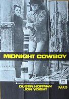 Midnight Cowboy - Swedish Movie Poster (xs thumbnail)