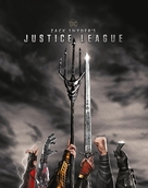 Zack Snyder's Justice League - Blu-Ray movie cover (xs thumbnail)