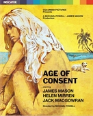 Age of Consent - British Blu-Ray movie cover (xs thumbnail)