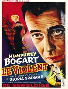 In a Lonely Place - Belgian Movie Poster (xs thumbnail)