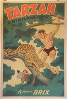 The New Adventures of Tarzan - Argentinian Movie Poster (xs thumbnail)