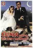 Crimen para recién casados - Spanish Movie Poster (xs thumbnail)