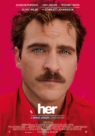 Her - Dutch Movie Poster (xs thumbnail)