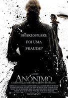 Anonymous - Portuguese Movie Poster (xs thumbnail)
