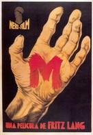 M - Spanish Movie Poster (xs thumbnail)