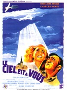 Ciel est à vous, Le - French Movie Poster (xs thumbnail)