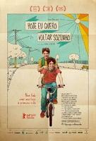 Hoje Eu Quero Voltar Sozinho - Brazilian Movie Poster (xs thumbnail)