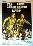 Papillon - Spanish Movie Poster (xs thumbnail)
