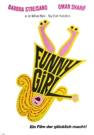 Funny Girl - German Movie Poster (xs thumbnail)