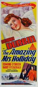 The Amazing Mrs. Holliday - Australian Movie Poster (xs thumbnail)