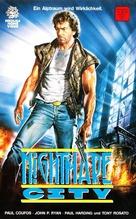 City of Shadows - German VHS cover (xs thumbnail)