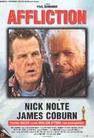 Affliction - Italian Movie Poster (xs thumbnail)