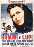 Uomini e lupi - Italian Movie Poster (xs thumbnail)