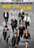 Now You See Me - DVD movie cover (xs thumbnail)