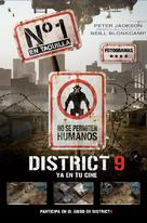 District 9 - Spanish Movie Poster (xs thumbnail)
