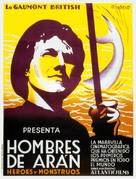Man of Aran - Spanish Movie Poster (xs thumbnail)