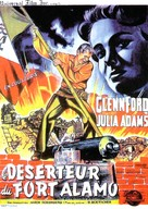 The Man from the Alamo - French Movie Poster (xs thumbnail)