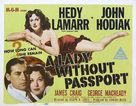 A Lady Without Passport - Australian Movie Poster (xs thumbnail)