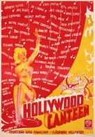 Hollywood Canteen - Swedish Movie Poster (xs thumbnail)