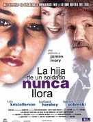 A Soldier's Daughter Never Cries - Spanish Movie Poster (xs thumbnail)