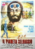 La planète sauvage - Italian Movie Poster (xs thumbnail)