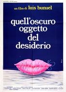 Cet obscur objet du désir - Italian Movie Poster (xs thumbnail)