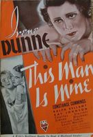 This Man Is Mine - poster (xs thumbnail)