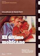 Der letzte Mohikaner - Spanish DVD movie cover (xs thumbnail)