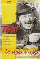 La legge è legge - Italian DVD cover (xs thumbnail)