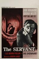 The Servant - Belgian Movie Poster (xs thumbnail)