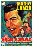 The Great Caruso - Spanish Movie Poster (xs thumbnail)