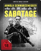 Sabotage - German Blu-Ray cover (xs thumbnail)