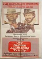 ...continuavano a chiamarlo Trinità - Chilean Movie Poster (xs thumbnail)