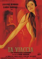 La viaccia - French Movie Poster (xs thumbnail)