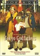 Tokyo Godfathers - Finnish DVD cover (xs thumbnail)