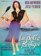 Miss Sadie Thompson - French Movie Poster (xs thumbnail)