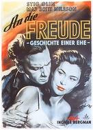 Till glädje - German Movie Poster (xs thumbnail)