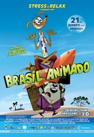 Brasil Animado - Brazilian Movie Poster (xs thumbnail)