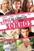You Will Meet a Tall Dark Stranger - Brazilian Movie Poster (xs thumbnail)
