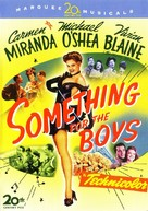 Something for the Boys - DVD movie cover (xs thumbnail)