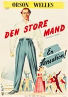 Citizen Kane - Danish Movie Poster (xs thumbnail)