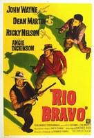 Rio Bravo - Argentinian Movie Poster (xs thumbnail)
