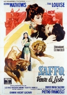 Saffo, venere di Lesbo - Italian Movie Poster (xs thumbnail)